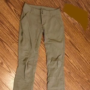 Columbia Saturday Trail Pants - Camel Colored